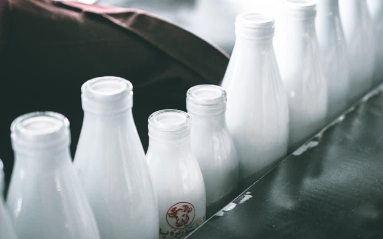 ホエイは牛乳から作られる