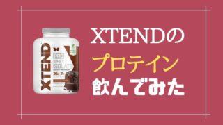 xtendプロテイン実食