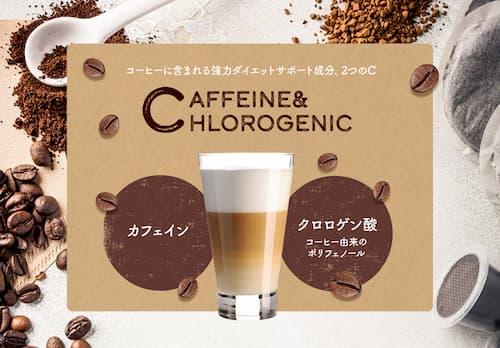 カフェインとクロロゲン酸